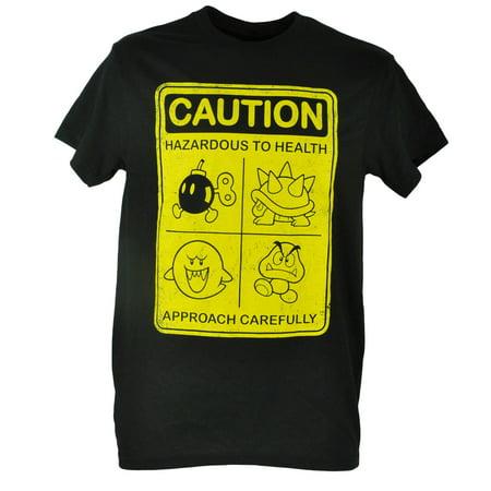 Caution Hazardous Villains Distressed Video Game Tshirt Tee XLarge - Villain Couples