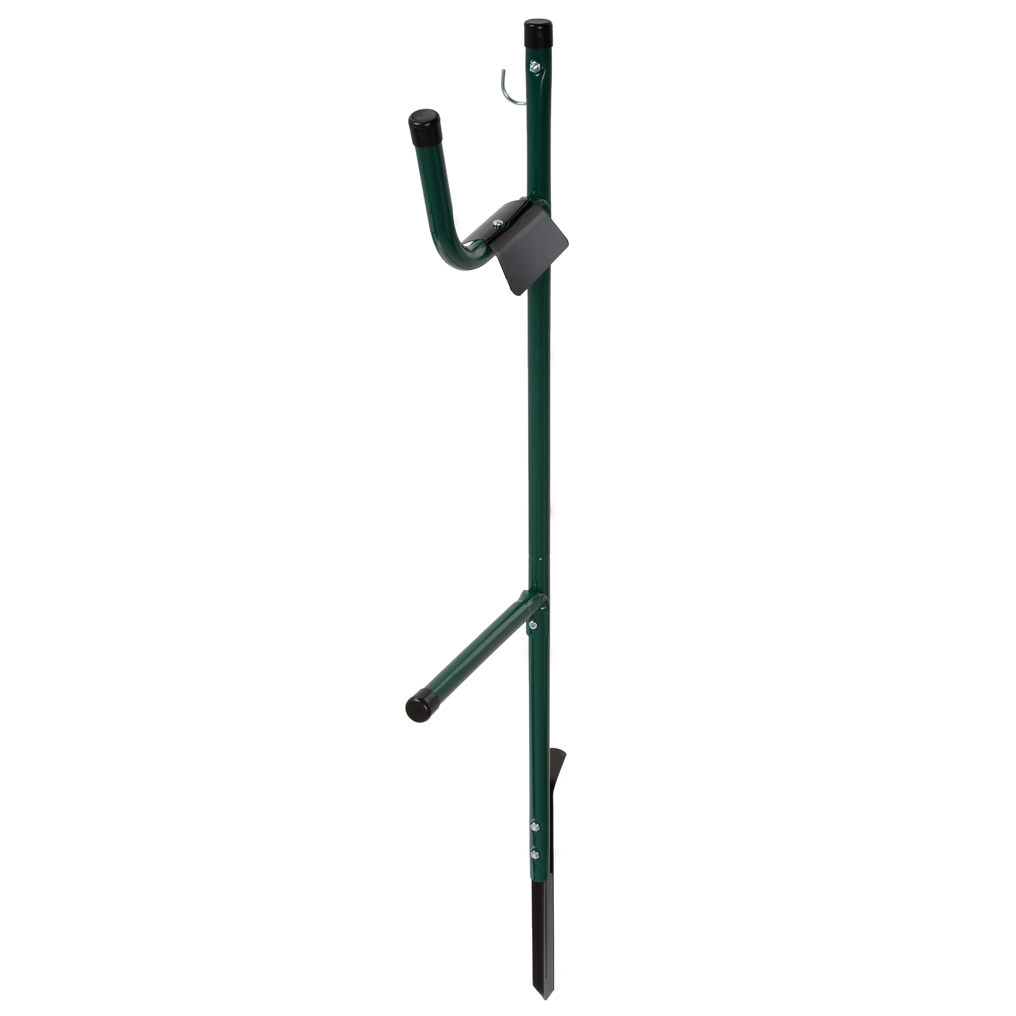 Garden Hose Holder Caddy  Easy Install Outdoor Free Standing Metal Rack For  Hose Management,