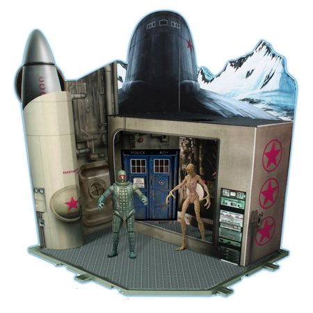 Doctor Who Cold War Time Zone Playset
