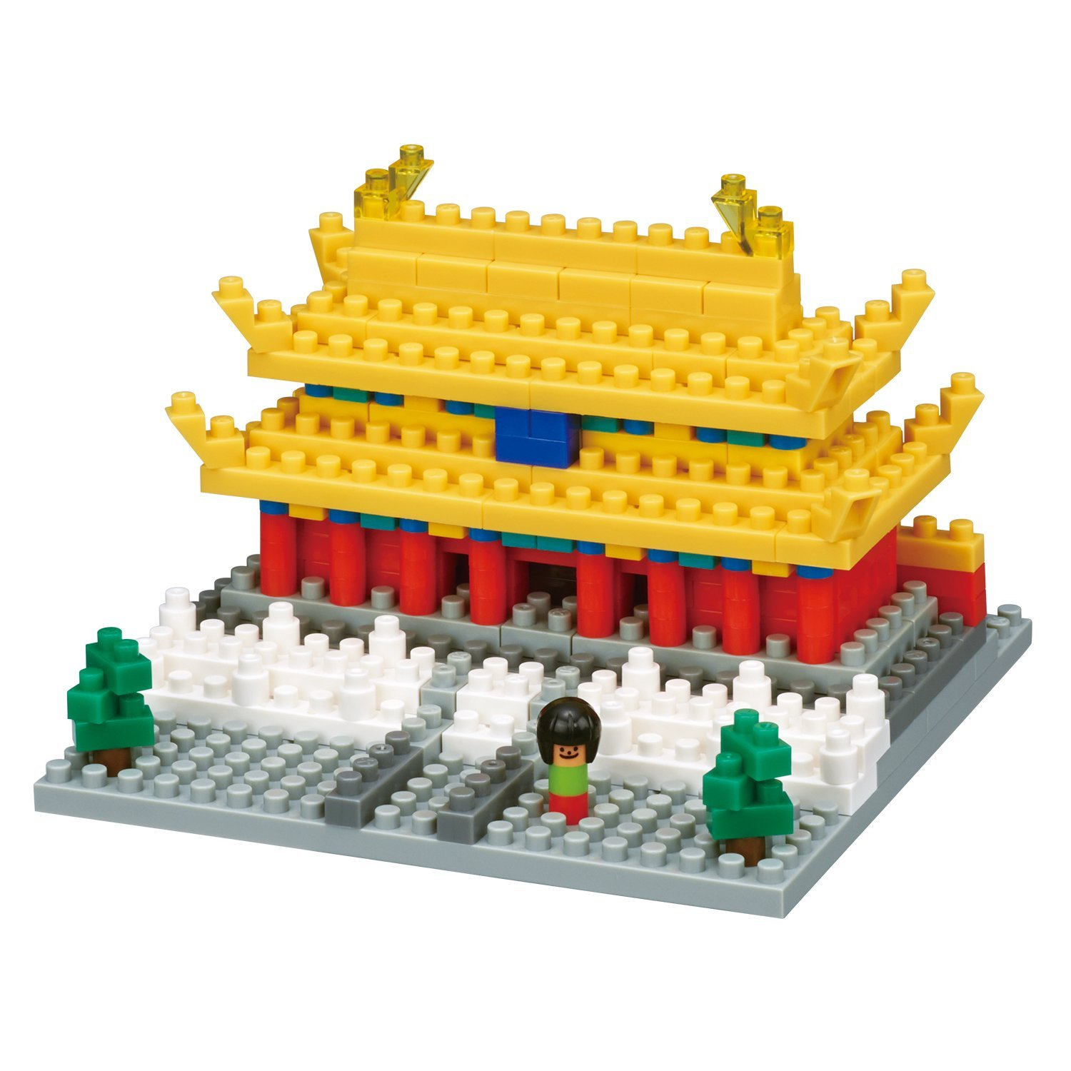 Forbidden City Building Set (290 Piece), The Imperial Palace of the Ming Dynasty is in the... by