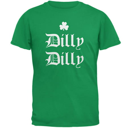 St. Patricks Day Dilly Dilly Shamrock Mens T Shirt - Walmart St Patricks Day Shirts