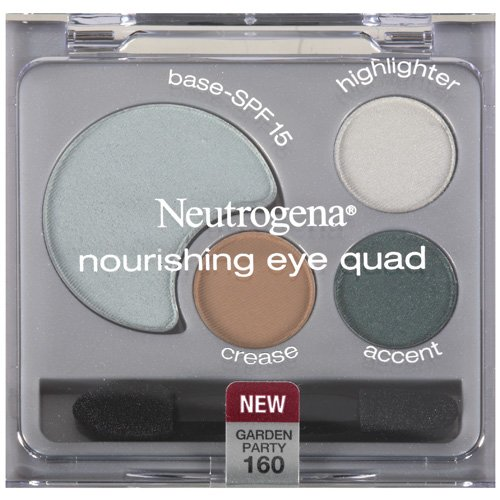 Neutrogena Nourishing Eye Quad, 160 Garden Party, 1 ct