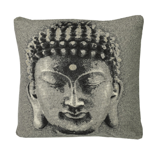 Westex Urban Loft Buddha Face Throw Pillow