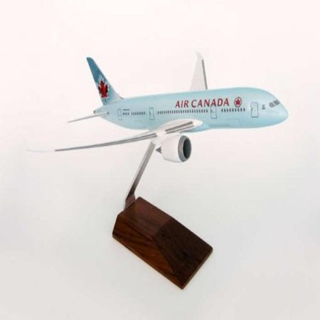 Daron Skymarks Air Canada 787 8 Aircraft With Wood Stand  1 200 Scale