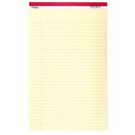 Mead 59612 8.5 x 14 in. Yellow Legal Pad, 50 Count, Pack of 12 - image 1 de 1