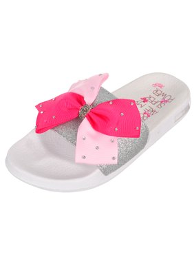 Jojo Siwa Girls' Slide Sandals (Sizes 13 - 5)