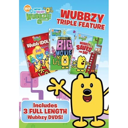 Wubbzy: Wubb Idol / Big Movie / Saves The Day (DVD) - Big Day