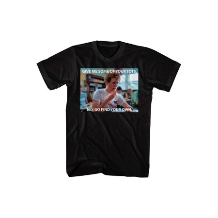 Napoleon Dynamite Give Me Some of Your Tots Pedro Rico Movie Adult T-Shirt Tee ()