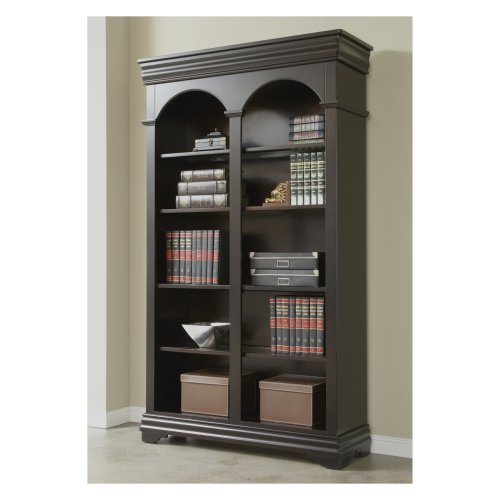 Martin Home Furnishings Furniture Beaumont Open Bookcase - 46 in.