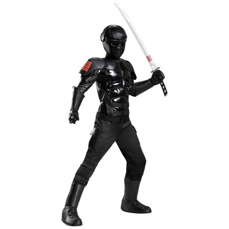 Gi Joe Costume (Prestige GI Joe Snake Eyes Child Costume -)
