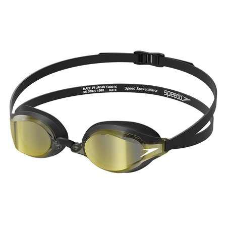 gratis bezorging best verkocht website voor korting Speedo Speed Socket 2.0 Mirrored Performance Swim Goggle - One Size, Deep  Gold