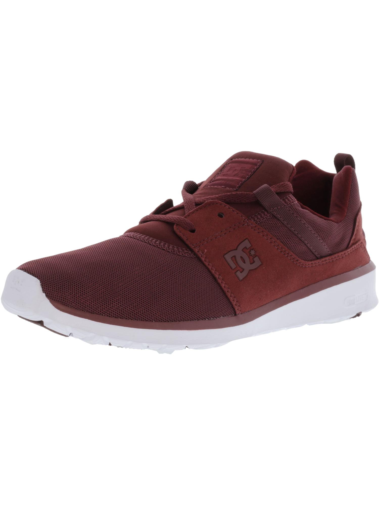 Dc Men's Heathrow Red / White Ankle-High Fashion Sneaker - 7.5M