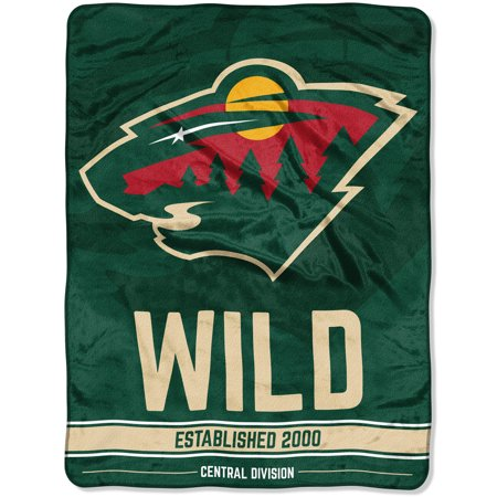 "NHL Minnesota Wild ""Breakaway"" 46""x 60"" Micro Raschel Throw - Minnesota Wild Set"