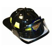 Adult Fire Fighter Helmet in Black