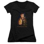 Constantine Devil You Know Juniors V-Neck Shirt