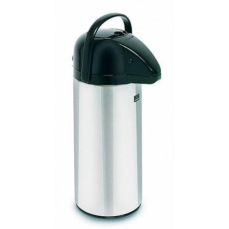 BUNN 13041 10-Cup Push Button Airpot Coffee/Tea Dispenser Stainless-Steel