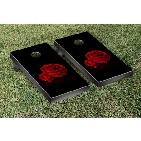Roses Themed Cornhole Bag Toss Game Set