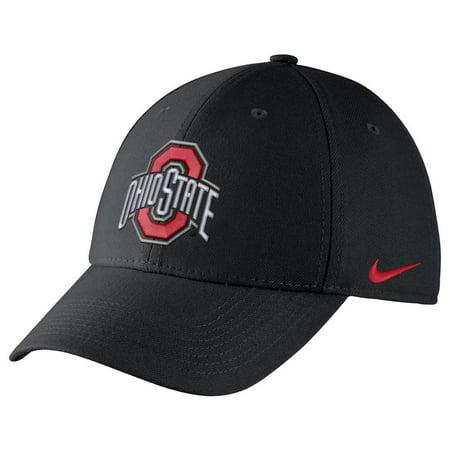 88efc2540d4b8 Nike Ohio State Buckeyes Dri-FIT Wool Swoosh Flex Hat - Walmart.com