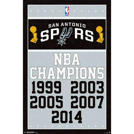 San Antonio Spurs - Champions 17
