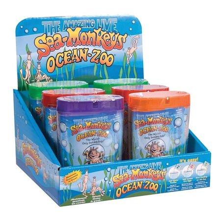 Sea Monkeys Eggs (Sea Monkeys Ocean Zoo (One Random Color) - Science Kit by Schylling)