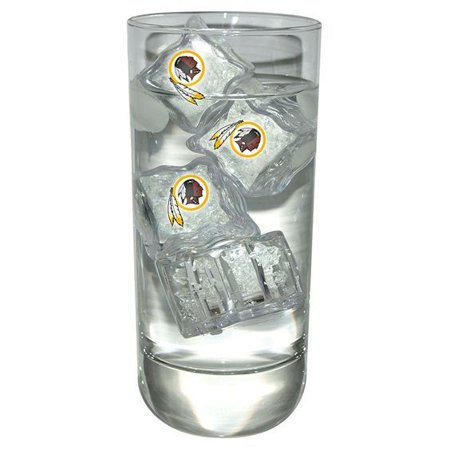 - Washington Redskins Set of 4 LED Light Up Ice Cubes