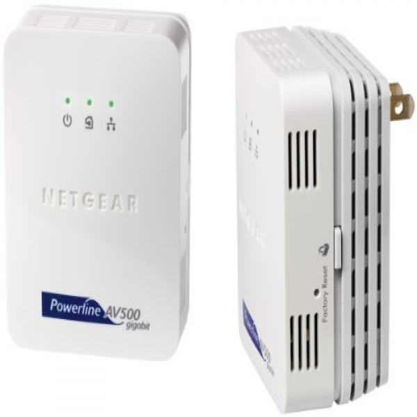 Netgear XAVB5001 Powerline Network Adapter Kit (XAVB5001) by NETGEAR