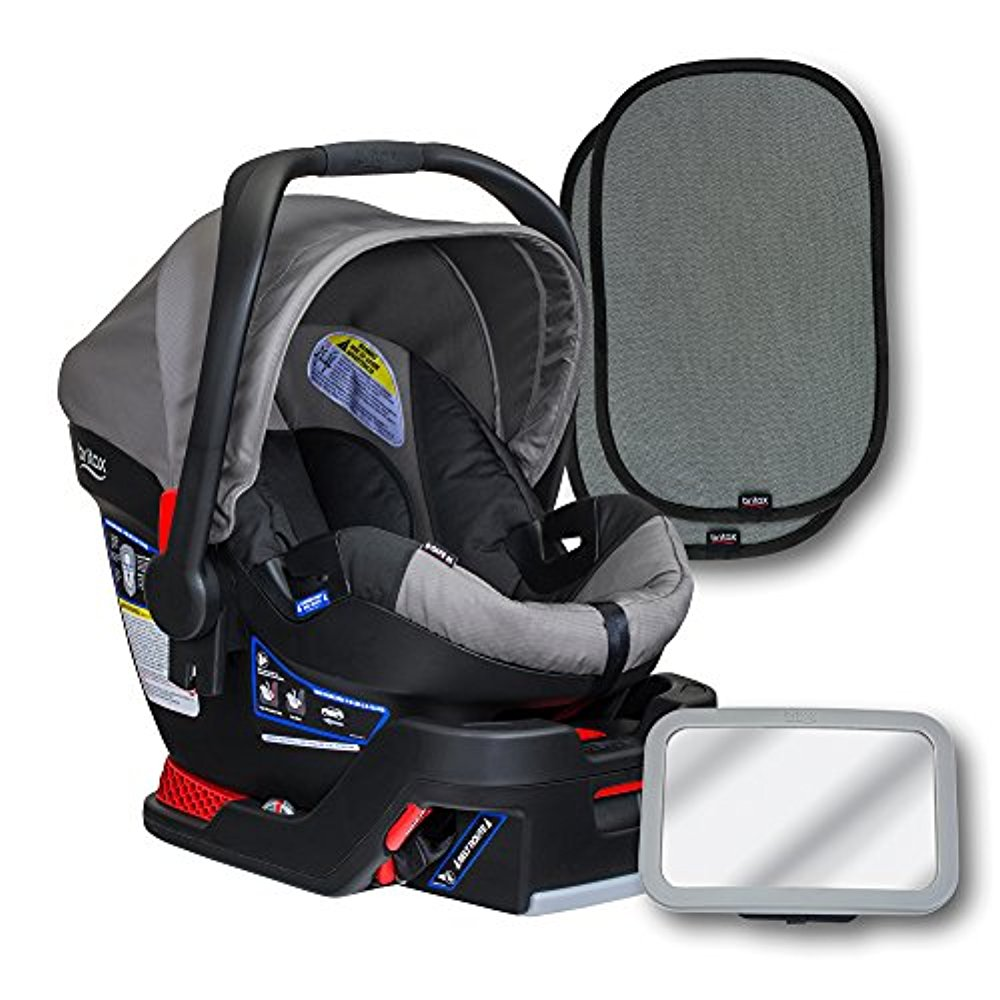 Britax B-Safe 35 Infant Seat Bundle, Steel