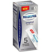 Philadelphia Original Cream Cheese Spread, 1 oz, 5 count