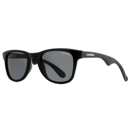 16ef6be65832 CARRERA - Carrera 6000 D28/WJ Shiny Black 50mm Polarized Wayfarer Sunglasses  - Walmart.com
