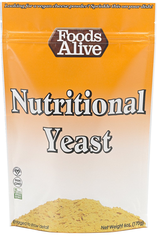 Foods Alive Nutritional Yeast 6 oz Vegan by Foods Alive