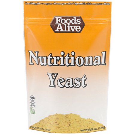 Foods Alive Nutritional Yeast 6 oz - Vegan
