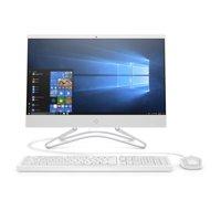 """HP 22-c0063w All-in-One, 21.5"""" FHD Display, Intel Celeron G4900T, 1TB HDD, 4GB RAM, Windows 10, White"""