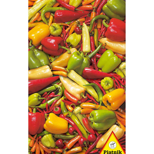 Peppers & Chilies Jigsaw Puzzle, 1000 Pieces