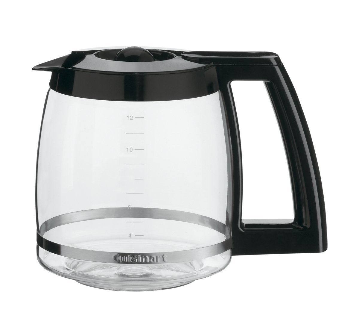 Certified Refurbished Grind-and-Brew 12-Cup Automatic Coffeemaker, Black Chrome (DGB-550BCH)