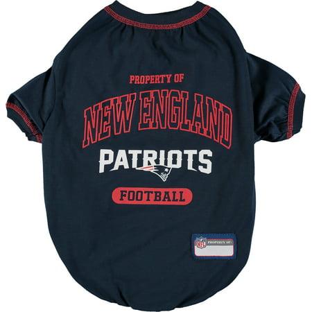 New England Patriots Pet T-Shirt (New England Patriots Pet Jersey)