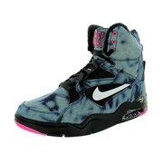 Nike Men's Air Command Force Basketball Shoe (6 D(M) US, Black/White/Pink Pow)