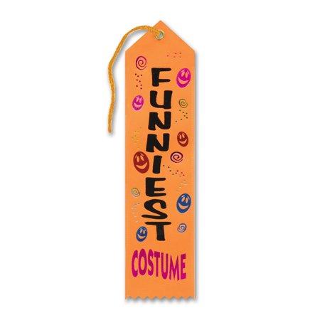 (6ct) Funniest Costume Halloween Ribbon (Funniest Costumes)