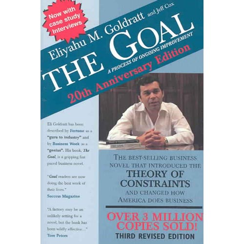 the goal eliyahu goldratt Eliyahu m goldratt is an israeli physicist and business management guru as the originator of many technique and theories to include the theory of constraints and thinking processes, goldratt has authored several business books here is a look at some of the most memorable eliyahu m goldratt.