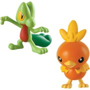 Pokemon 2pk Small Figures Treecko and Torchic