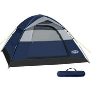 Best 2 Person Tents - Pacific Pass Camping Tent 2 Person Family Dome Review