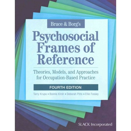 Bruce & Borg's Psychosocial Frames of Reference : Theories, Models, and Approaches for Occupation-Based