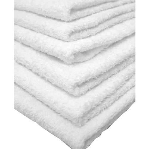 "GHP 36-Pcs 16""x26"" 100% Cotton White Commercial Grade Absorbent Linen Hand Towels"