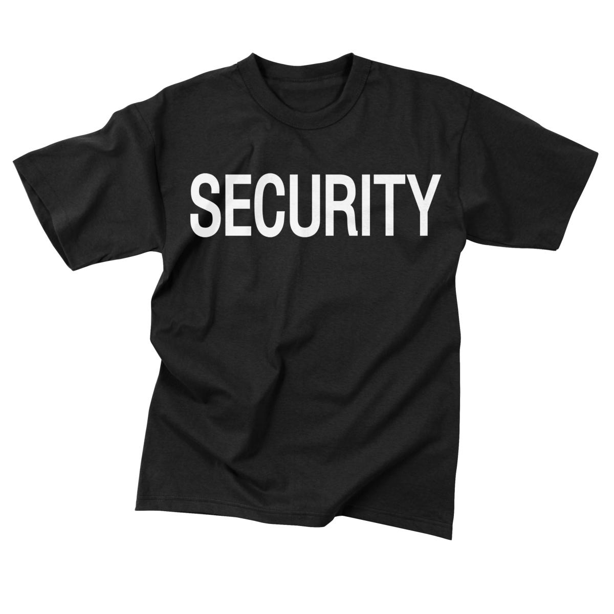 Security Black Official Double-Sided Raid T-Shirts