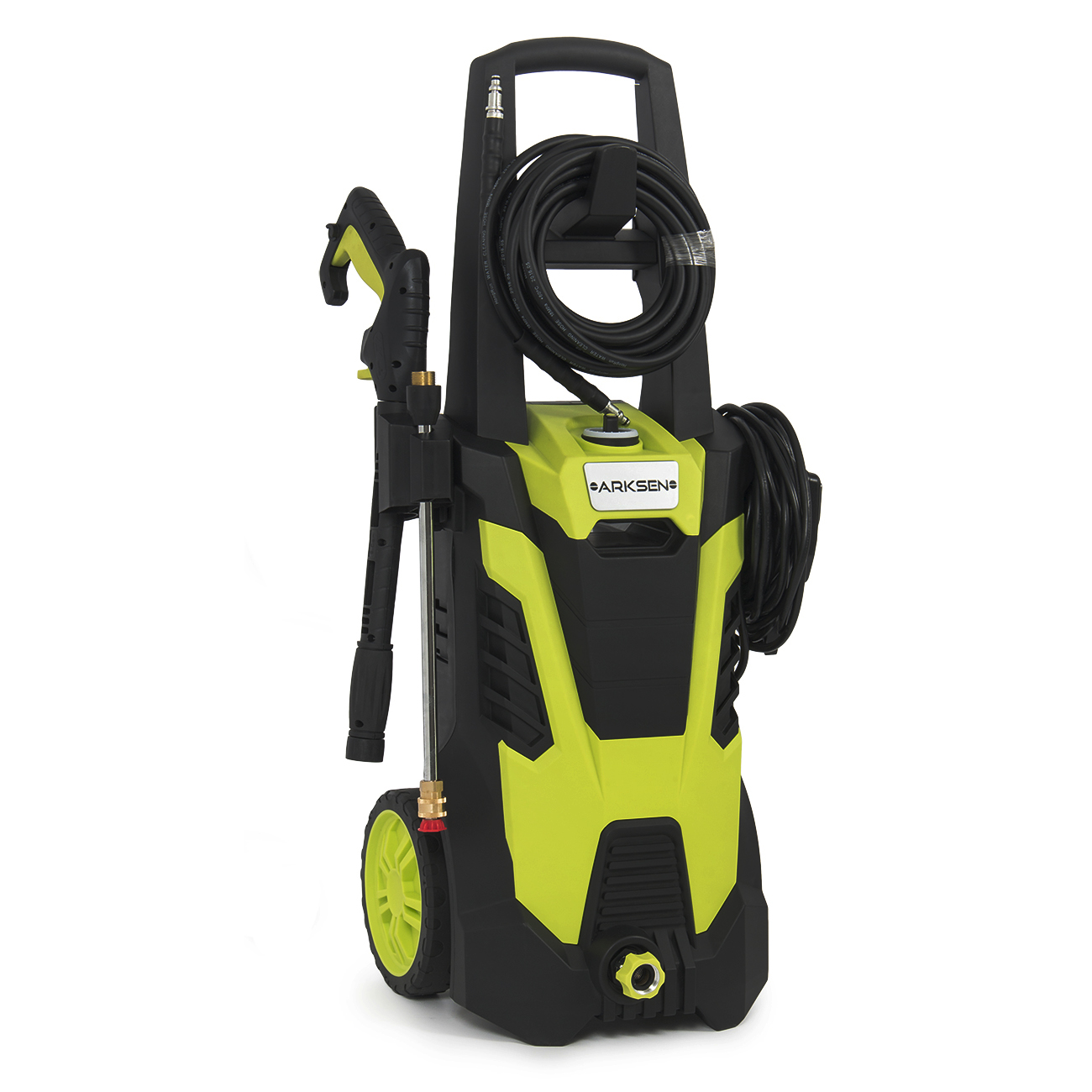 Arksen Burst 3000PSI Electric Pressure Washer Machine with (5) Nozzle Adapter kit