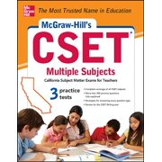 McGraw-Hill's Cset Multiple Subjects: Strategies + 3 Practice Tests (Paperback)