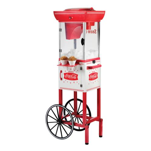 Nostalgia Coca-Cola Series SCC399COKE Snow Cone Cart