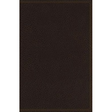 Hermitage Leather (NIV, Heritage Bible, Deluxe Single-Column, Imitation Leather, Brown, Comfort Print)