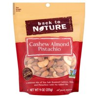 Back to Nature Cashew Almond Pistachio, 9 oz, 9 pack