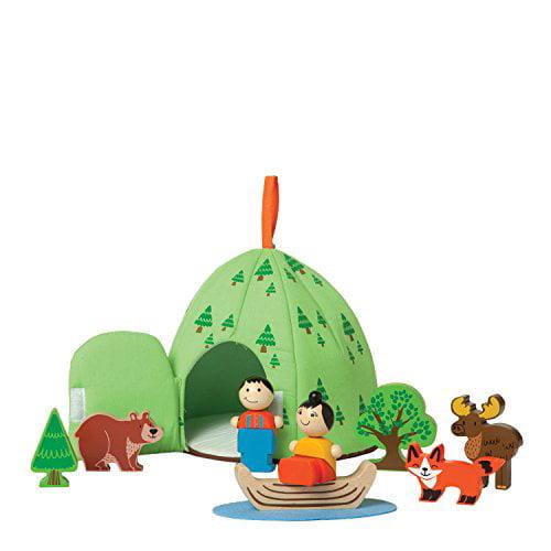 Manhattan Toy Forest Adventure Wooden Toddler Activity Set - image 1 de 1