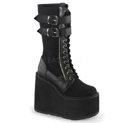 Demonia Vegan Boots Womens SWI221 BCA-VL Size: 10 by